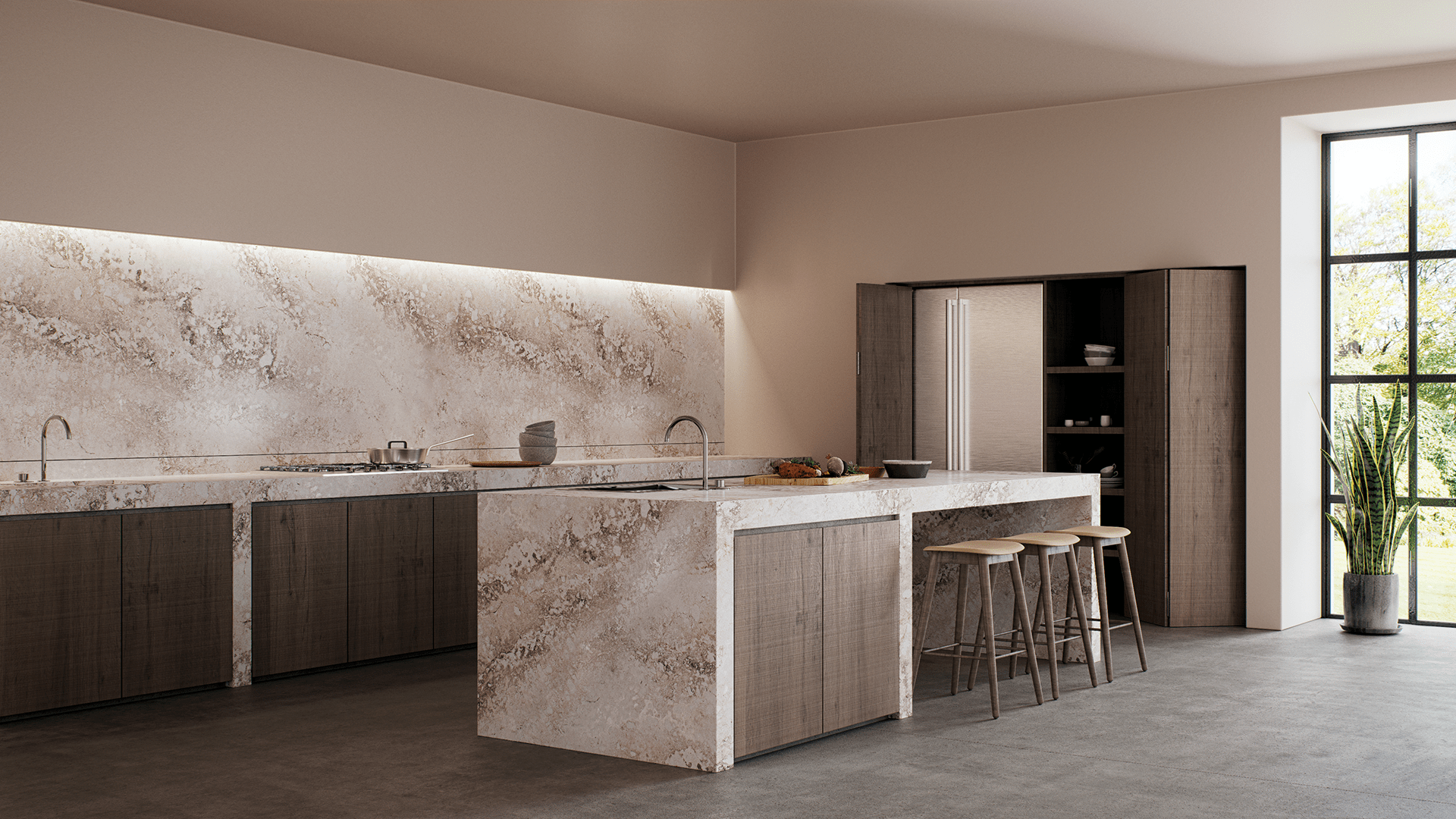 Kitchen Cupboard Colours 2018 Caesarstone New Colours 2018 Texture And Patina Rule The
