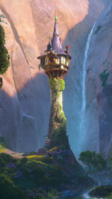 Download Girl Wallpaper Nokia 5233 Tangled Tower Wallpaper For Nokia 5233