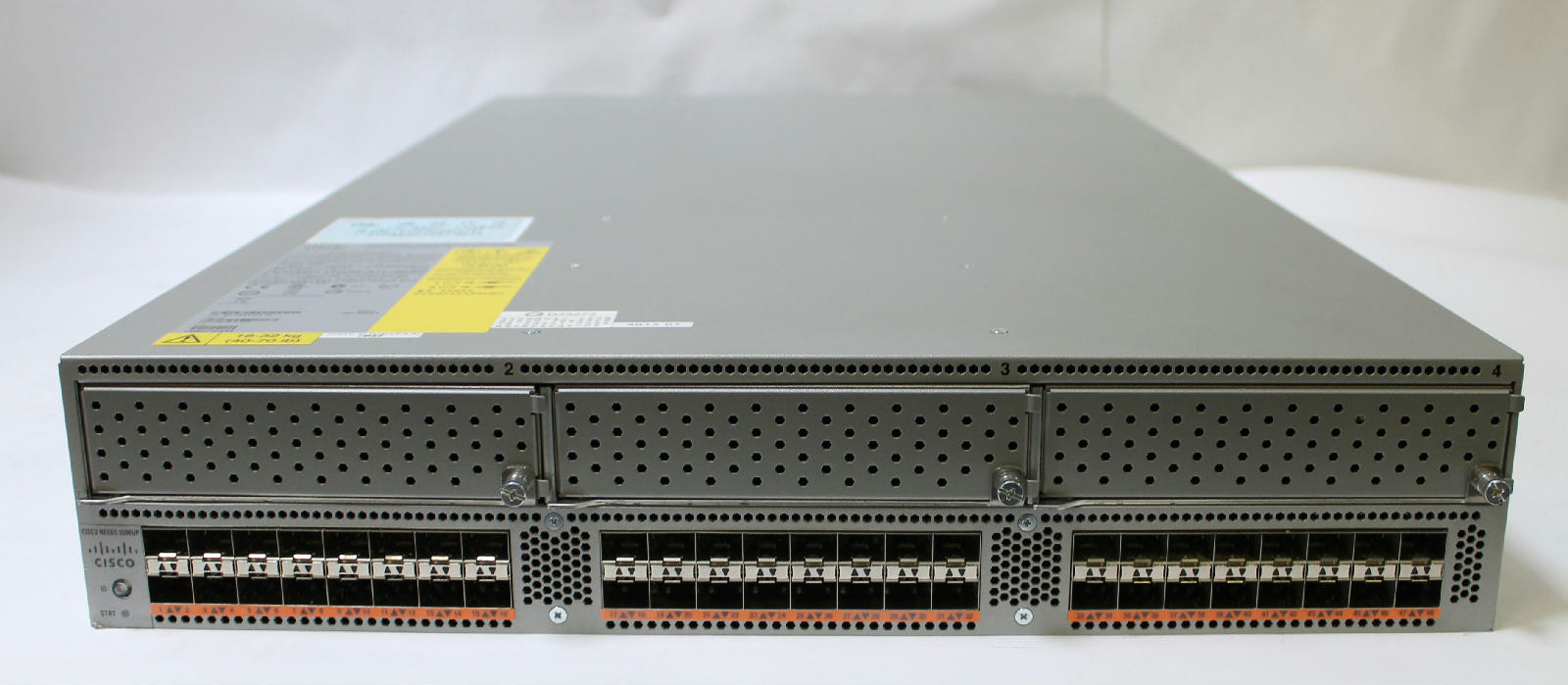 Port Network Cisco Nexus 5000 N5k C5596up 48 X 10gbe Port Network Switch W Layer 2 License