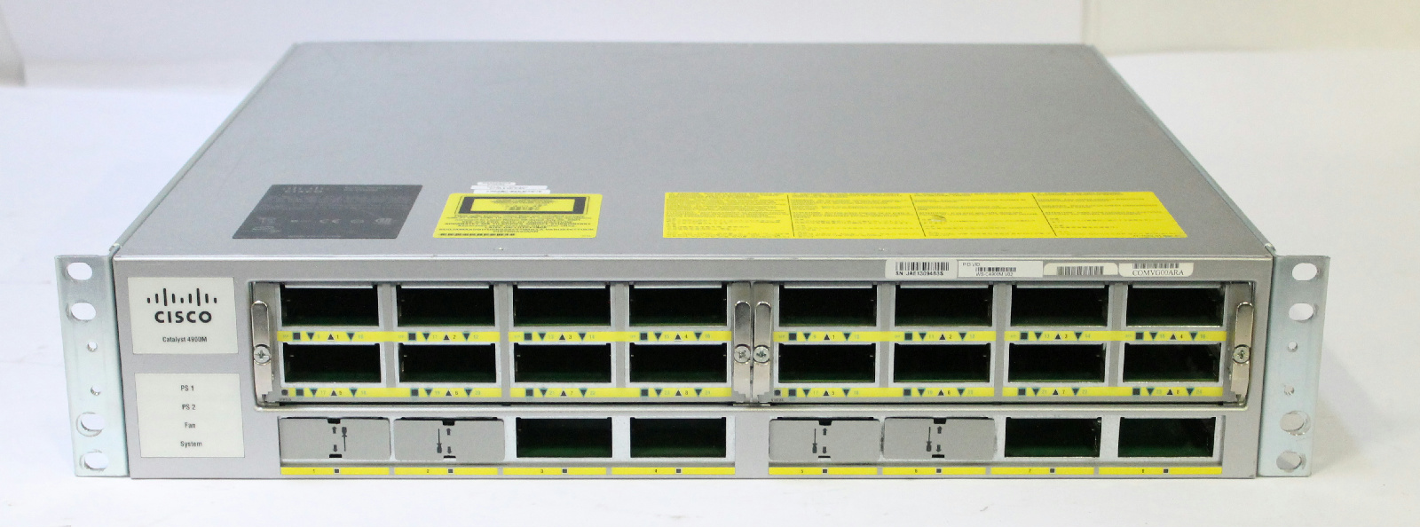 Port Network Cisco Ws C4900m 10ge Port Network Switch With 2x Ws X4908 10ge Modules