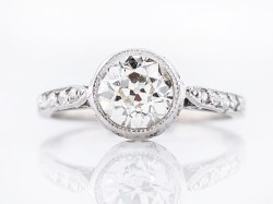 Small Of Platinum Engagement Rings