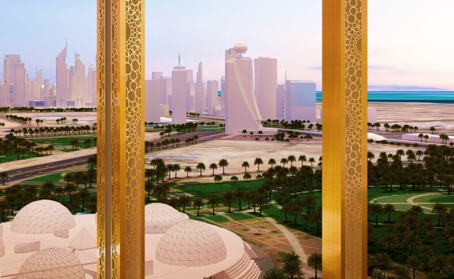 Dubai Frame Is Set To Be Uae S Hottest Attraction This Year The Filipino Times