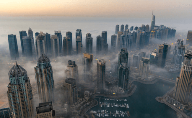 Clouds Stick Around On Monday With A Little Chance Of Rain In Uae The Filipino Times