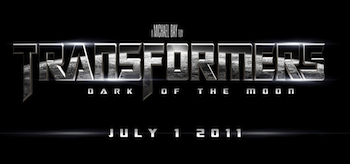 Transformers: Dark of the Moon, Offical Movie Logo Header