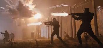 Hydra Gun Fire, Captain America: The First Avenger