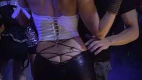 Kelly Overton, Ass crack, Dancing, Tekken, 2010