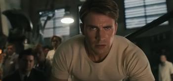 Chris Evans, Captain America The First Avenger 2011