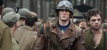 Chris Evans, Sebastian Stan, Captain America The First Avenger 2011