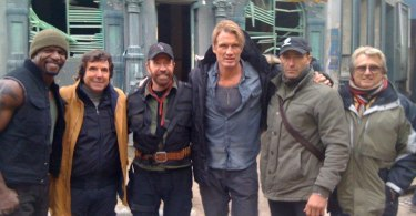 Chuck Norris, Dolph Lundgren, Terry Crews, The Expendables 2