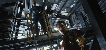 Chris Evan, Robert Downey Jr, The Avengers