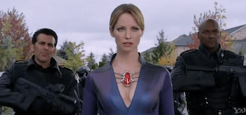 Oded Fehr Colin Salmon Sienna Guillory Resident Evil Retribution
