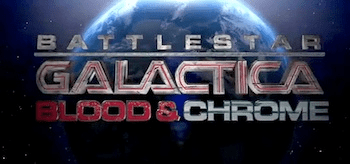 Battlestar Galactica Blood and Chrome Logo