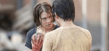 Lauren Cohan Steven Yeun The Walking Dead Killer Within