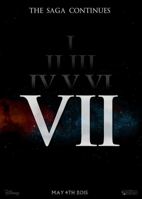 Star Wars Episode 7 Movie Poster Mark Wassmer