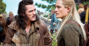 Orlando Bloom Luke Evans The Hobbit An Unexpected Journey