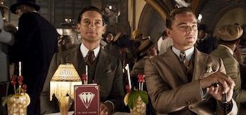 Tobey Maguire Leonardo DiCaprio The Great Gatsby