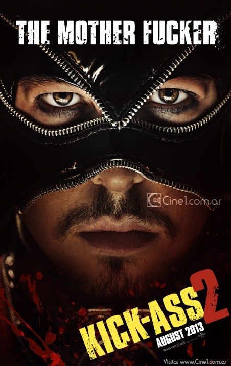 Christopher Mintz-Plasse The Mother Fucker Kick-Ass 2 movie poster