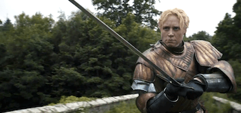 Gwendoline Christie Game of Thrones Kissed by Fire