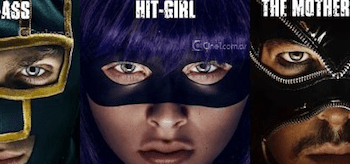 Kick-Ass 2 movie posters