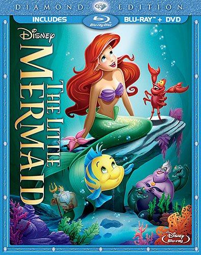 The Little Mermaid Diamond Edition Bluray