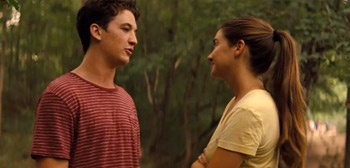 Shailene Woodley Miles Teller The Spectacular Now