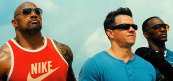 Dwayne Johnson Mark Wahlberg Anthony Mackie Pain & Gain