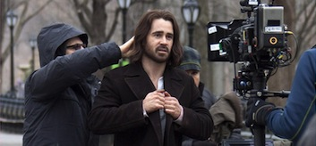 Colin Farrell & Jennifer Connelly Film 'Winter's Tale' In NYC