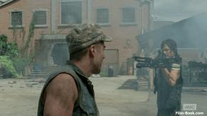 Kirk Acevedo Norman Reedus The Walking Dead Too Far Gone