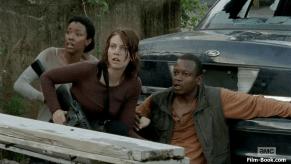 Sonequa Martin-Green Lauren Cohan Lawrence Gilliard Jr The Walking Dead Too Far Gone