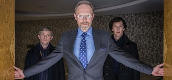 Benedict Cumberbatch Martin Freeman Sherlock His Last Vow