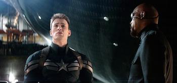 Chris Evans Samuel L Jackson Captain America The Winter Soldier