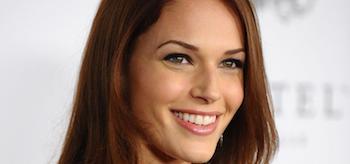 Amanda Righetti Smiling