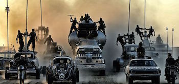 Cars Mad Max Fury Road