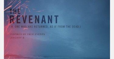 The Revenant Movie Poster Arrives