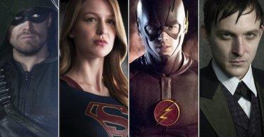 Arrow Supergirl The Flash Gotham