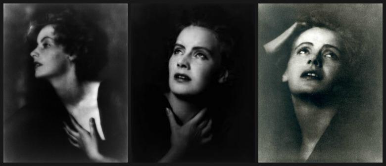 Wizerunek Garbo utrwalony na zdjęciach Arnolda Genthe