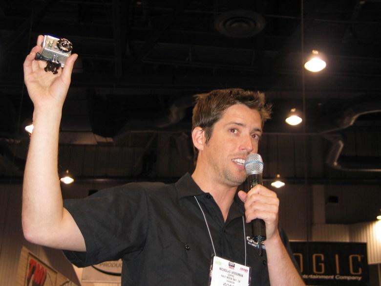 Nick Woodman i jego kamerka GoPro. Biznes wart miliardy.