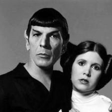 Fota dnia – Spock i Leia