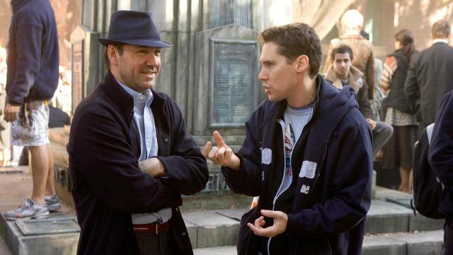 Kevin Spacey i Bryan Singer na planie Podejrzanych