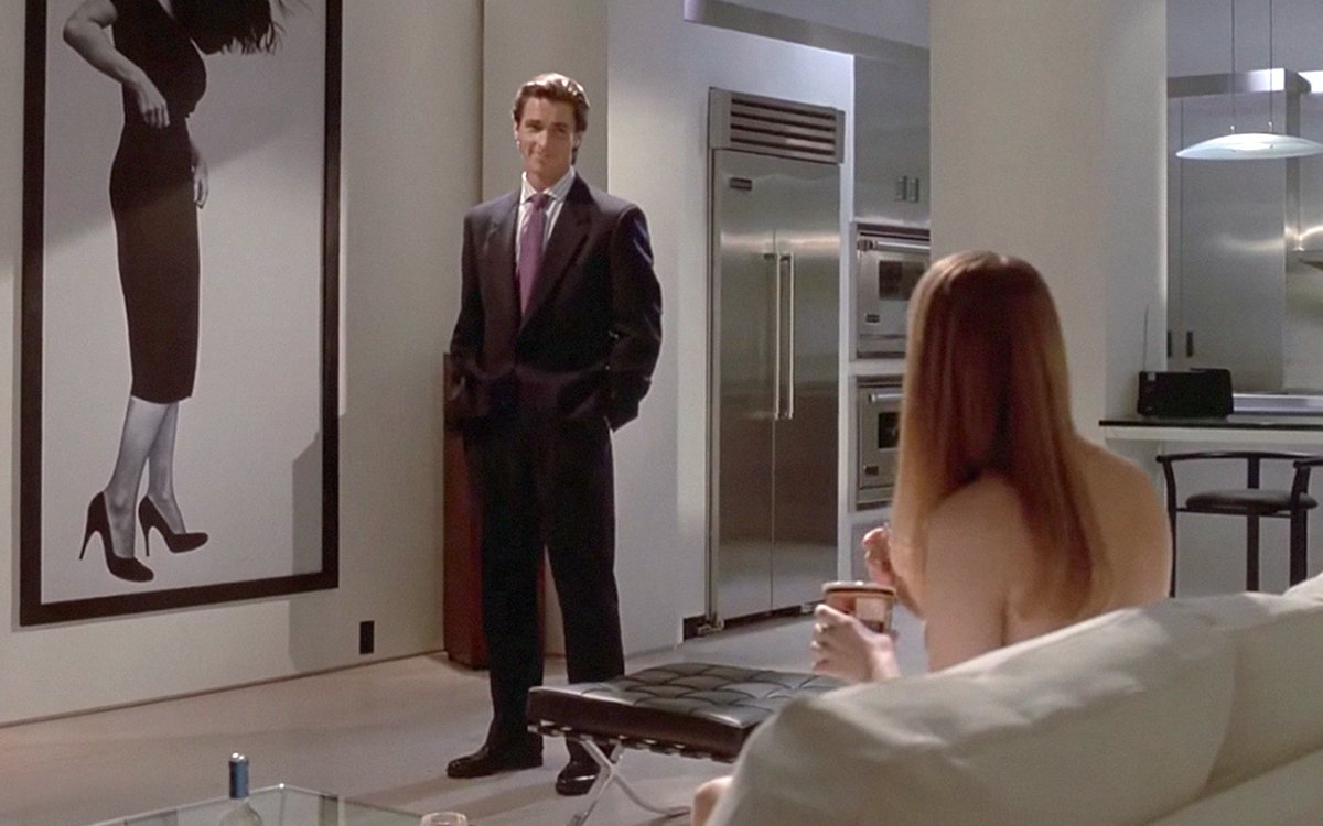 Ludwig Mies Van Der Rohe American Psycho - Film And Furniture