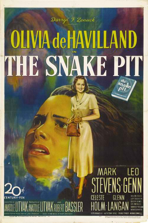snake pit review metapsychology In the first civilizations in egypt and the near east, mental illness was attributed to the magical forces of malevolent deities, and the main therapists were priests.