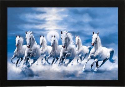 White Horse Painting As Per Vastu - Defendbigbird.com