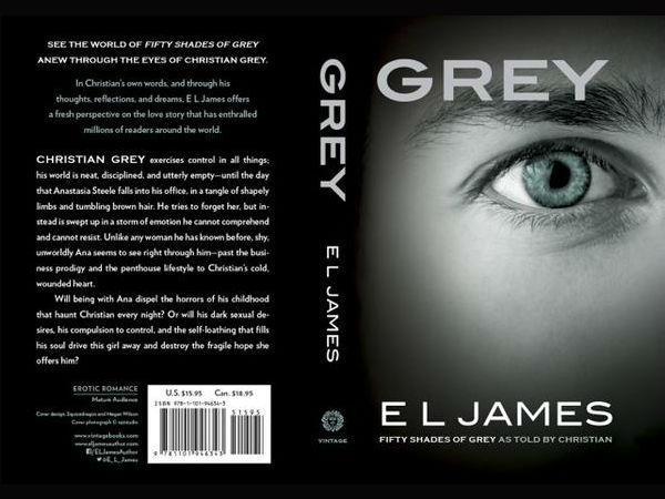 Nuevo Libro Cincuenta Sombras De Grey Grey Book | El James Grey Book | Christian Grey Point Of