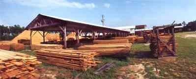 Wilson Lumber Mill At Film North Florida Pensacola Bay