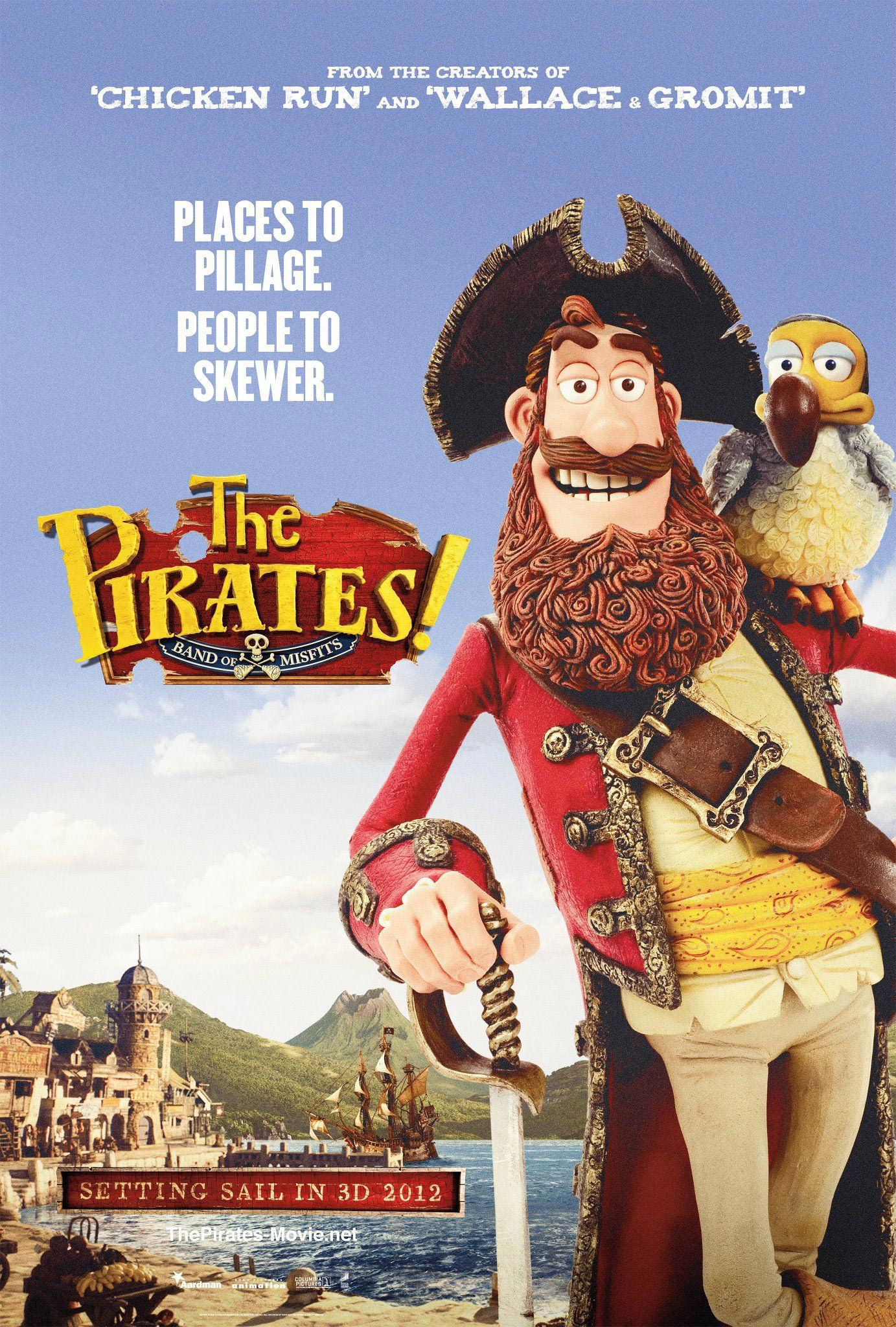 The Pirate Filme Two New The Pirates Band Of Misfits Trailers Filmofilia
