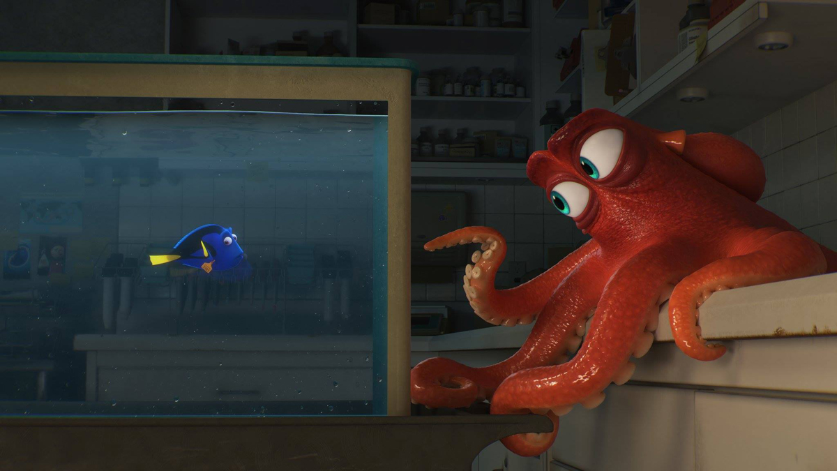 Dory Vis Movie Review Finding Dory 2016