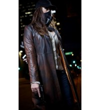 Watch Dogs Women Distressed Long Costume