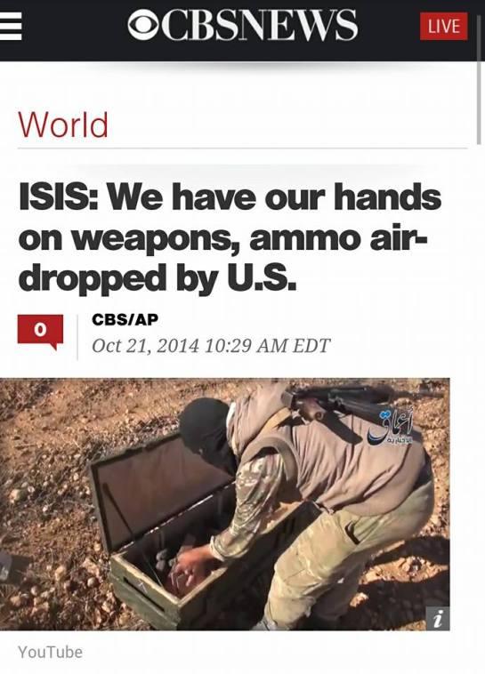 Μόνον τὰ made in U.S.A. ὅπλα προτιμᾶ ἡ ISIS!!!3
