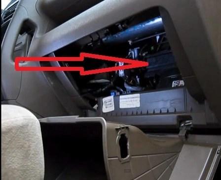 Acura El Air Conditioning Filter Location