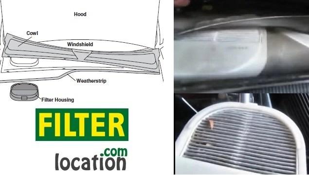 Honda S2000 cabin air filter location
